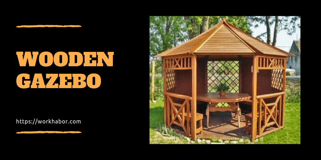 A Few Things You Should Know About A Wooden Gazebo