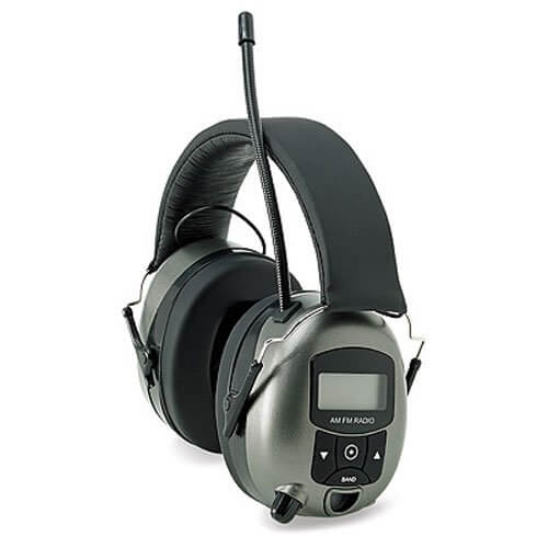 radio headphones for lawn mowing